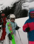 LadiesCamp freeriding in Verbier